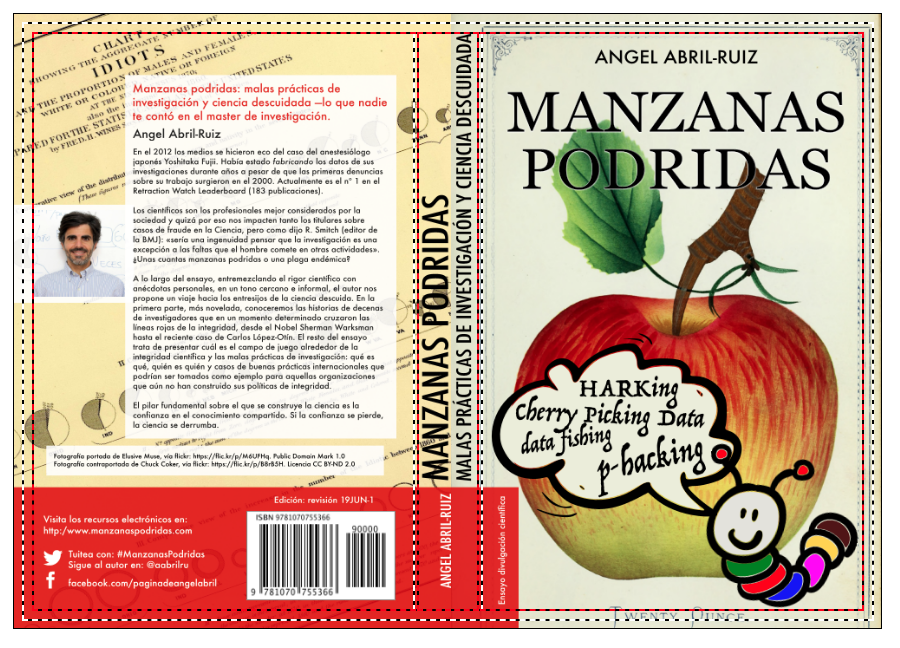 Manzanas podridas: malas prácticas de investigación y ciencia descuidada [maqueta cubierta, 29MAY19]