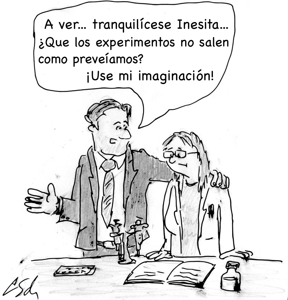 «Tranquilícese Inesita». Imagen original de Leonid Schneider. Traducida a español por @aabrilru. CC BY-NC